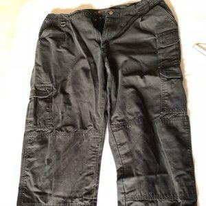 Men's black tactical pants